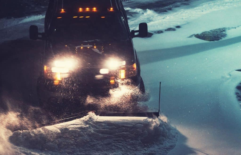 snow plowing calgary