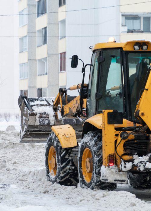 snow removal company calgary